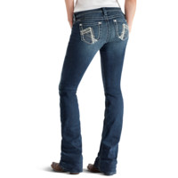 Ariat Women's Ruby Chainlink Jeans, Night Sky Wash - 10010840