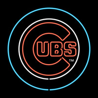 Chicago Cubs MLB 23 Inch Team Neon Sign