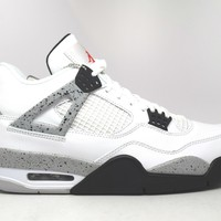 Air Jordan 4 Retro OG White Cement 2016 Basketball Shoes <>
