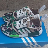"""ADIDAS""NMD Trending Fashion Camouflage Casual Sports Shoes G-MDTY-SHINING"