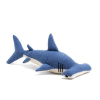 Knit Alpaca Stuffed Hammerhead Shark