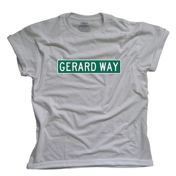 Gerard Way Sign Tshirt - My Chemical Romance Shirt - Gee Way