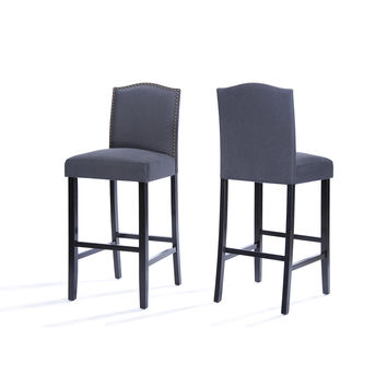 Myrcella Fabric Counter Stools (Set of 2)