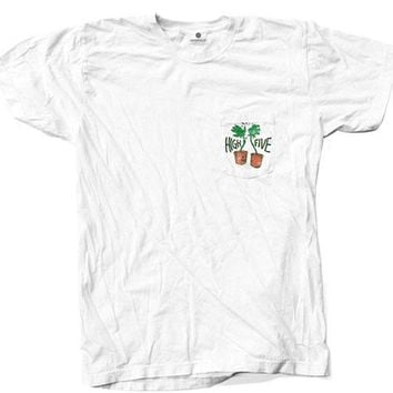 High Five Pocket - White