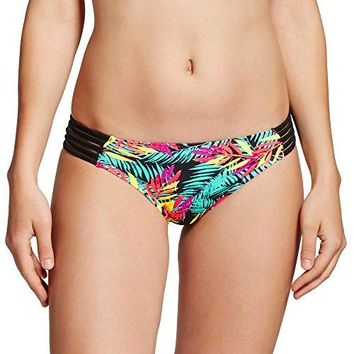 Xhilaration Womens Strappy Cheeky Bikini Bottom