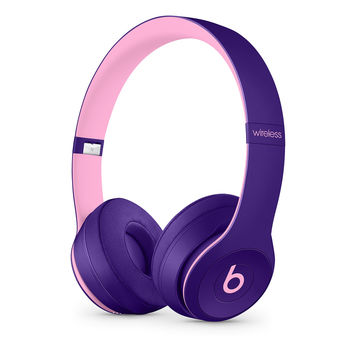 Beats Solo3 Wireless On-Ear Headphones - Beats Pop Collection - Pop Blue