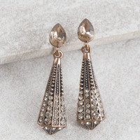 Point of Interest Drop Earrings