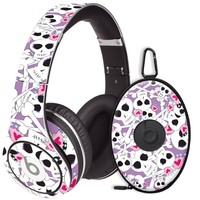 Skull Princess Decal Skin for Beats Studio Headphones & Carrying Case by Dr. Dre