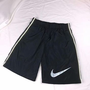 NIKE 2018 summer classic big logo couple models reflective shorts F-AA-XDD