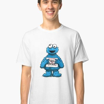 'Free cookies' Classic T-Shirt by axelmichel