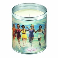 Vintage Surf's Up Candle