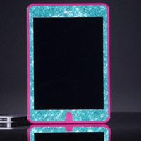 iPad Mini Otterbox Case - Custom Pink/Paradise Glitter Otterbox Defender iPad Mini Retina Case - Cute Sparkly Bling iPad Mini Case