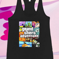 grand theft adventure time Screenprint For Tank top women and men unisex adult