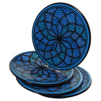 Dinner Plates, Turqa, Set of 4, Dinner Plates