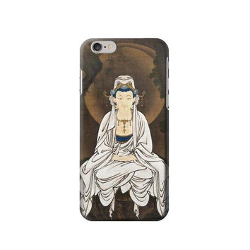 P2777 Kano White Robed Kannon Phone Case For IPHONE 6S