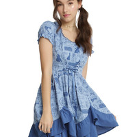Disney Beauty And The Beast Ruffle Dress