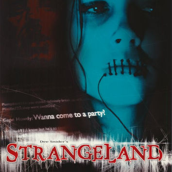 Dee Snider's StrangeLand 11x17 Movie Poster (1998)