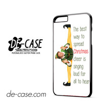 Funny Christmas Elf Movie Quotes DEAL-4493 Apple Phonecase Cover For Iphone 6/ 6S Plus
