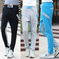 Two Tone Slim Fit Sweatpants