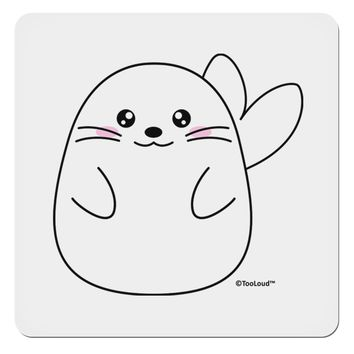 "Cute Seal 4x4"" Square Sticker by TooLoud"