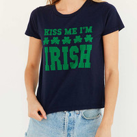 Truly Madly Deeply Kiss Me Im Irish Tee - Urban Outfitters
