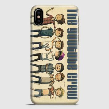 British Youtubers Crew In Art iPhone X Case