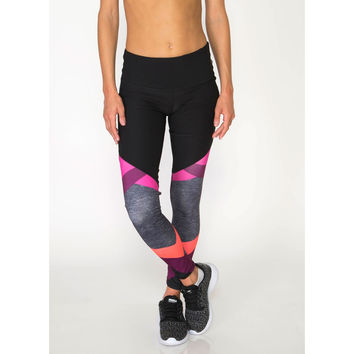 Prime Colorblock Printed Leggings