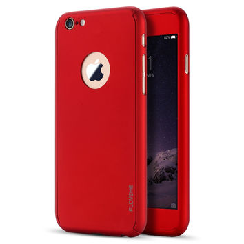 iPhone 6/6s Luxury Full Body Phone Case - FLOVEME - Red