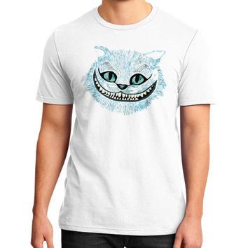 Cheshire Cat blue District T-Shirt (on man)