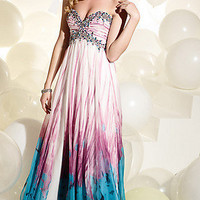 Prom Dresses, Celebrity Dresses, Sexy Evening Gowns at PromGirl: Full Length. Strapless Sweetheart Dress