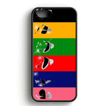 Mighty Morphin Power Rangers iPhone 4s iPhone 5s iPhone 5c iPhone SE iPhone 6|6s iPhone 6|6s Plus Case