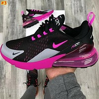 NIKE AIR MAX 270 Tide brand atmospheric pad wild men and women sports shoes #3