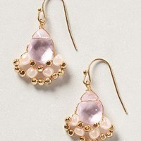 Iolanthe Drops by Anthropologie Pink One Size Earrings