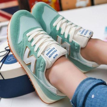 DCCK1IN new balance fashionable and comfortable leisure sports women shoes green