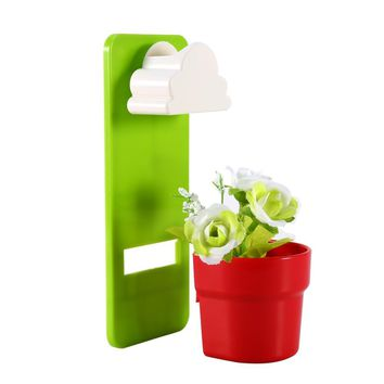 Flower Pot Tiny Creative Designed Cloud Rainy Plant Flower Pot Wall-hung Plant Home Garden Home Decoration