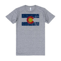 Vintage Colorado Flag