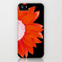 red & black summer iPhone & iPod Case by Steffi~findsFUNDSTUECKE