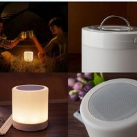 Bluetooth Speaker+ Color Change Touch Lamp