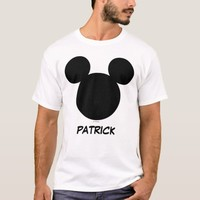 Disney Family Vacation - Mickey   Add Your Name T-Shirt