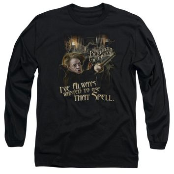 Harry Potter - That Spell Long Sleeve Adult 18/1 Officially Licensed Shirt