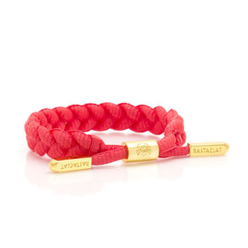 SHOELACE BRACELET: RED OCTOBER - Rastaclat