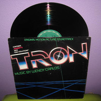 Rare Vinyl Record TRON Original Soundtrack LP by JustCoolRecords