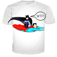 Batman superman shirt