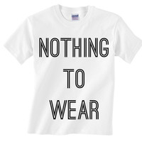 Nothing To Wear Tee from Now and Again Co.