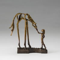 Nourish by Sandy Graves (Bronze Sculpture) | Artful Home