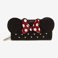 Loungefly Disney Minnie Mouse Ears & Bow Wallet
