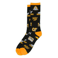 KTA PATCHES ALLOVER SOCKS BLACK – Odd Future