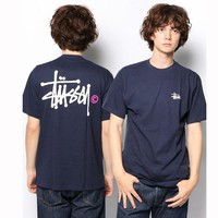 Cheap Women's and men's STUSSY t shirt for sale 501965868-099