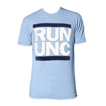 RUN UNC - Athletic Blue