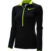 Nike Women's Pro Hyperwarm GFX Half Zip Long Sleeve Compression Shirt | DICK'S Sporting Goods